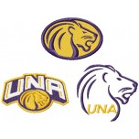 North Alabama Lions logos machine embroidery design for instant download